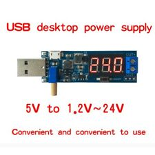 DC-DC USB Boost Power Regulator Power Module Desktop 5V to 3.3V 9V 12V 24V GW