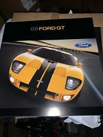 Original 2005 Ford GT Deluxe Sales Brochure 05 Catalog New
