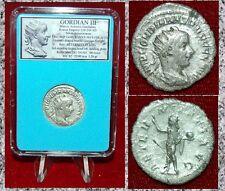 New ListingAncient Roman Coin Of Gordian Iii Sol on Reverse Silver Antoninianus