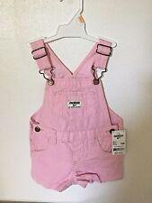 NWT OshKosh Girls Jumper Striped Pink 12 Mos. Retail $32.00