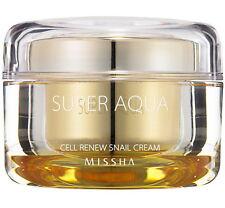 New Missha Super Aqua Cell Renew Snail Cream - 47ml