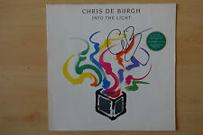 """Chris de Burgh Autogramm signed LP-Cover """"Into The Light"""" Vinyl"""