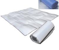Unistrengh 9.8×6.6ft Sleeping Mattress Mat Pad Waterproof Aluminum Foil EVA Camp