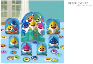 Baby Shark Table Decorating Kit 7 Pieces Party Supplies FREE SHIPPING