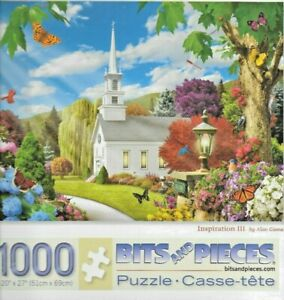 Bits and Pieces 1000 PC Puzzle Inspiration III NEW FACTORY SEALED FREE SHIP US