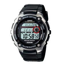 Casio Digital Atomic Waveceptor Watch, 200 Meter WR, World Time, WV200A-1AV
