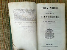 Libro religiosi antico, breviario, in italiano, bordo dorata, anno 1830 be