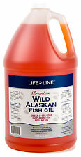 Wild Fish Oil 1gal Fresh Premium Alaskan Omega 3 EFA (similar to Salmon Oil)