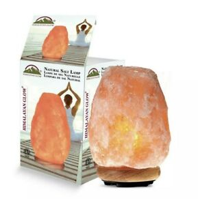 Himalayan Air Purifier 7.25 in. Ionic Crystal Natural Salt Home 5-7 lbs. Lamp