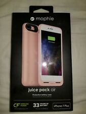 Mophie Juice Pack Battery Case For iphone 7 Plus- Rose Gold