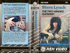 steve lynch the two handed guitarist reh instructional dvd yngwie malmsteen