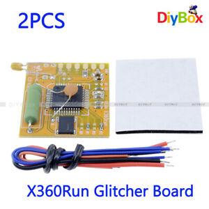 [2PCS] X360Run Glitcher Board w/ 96MHZ Crystal Oscillator Build For Slim XBOX360