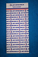 Jet America System Timetable Oct 28, 1984