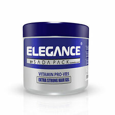 Elegance Vitamin PRO-VB5 Extra Strong Hair Gel 35oz/1000ml - Factory Sealed