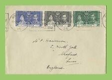 Elizabeth II (1952-Now) Machine Cancel British Covers Stamps