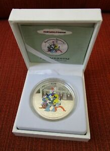 Cook Islands 2011 Silver 1oz Proof Coin Bremen Musicians $5 Dollar Soyuzmultfilm