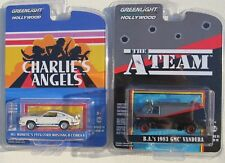 HOLLYWOOD 19 CHARLIE'S ANGELES 1976 FORD MUSTANG & THE A TEAM 1983 GMC VANDURA