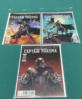 Star Wars Captian Phasma Comics 1,2,4 NM