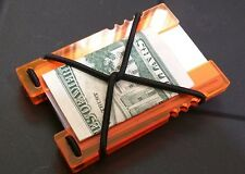 Fluoro Orange Tactical Shock Wallet, EDC Punisher NEW!