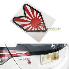 (1) JDM Japanese Style Drift Rising Sun Badge Sticker Decal For Cars SUVs Trucks