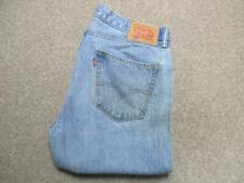"""MENS 34""""W 33""""L DIESEL PADDOM LOOSE STRAIGHT TURNED UP JEANS / REF A5354"""