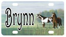 MINI LICENSE PLATE HORSES Any Name Personalized for Kids Bikes Wagons Wall Door