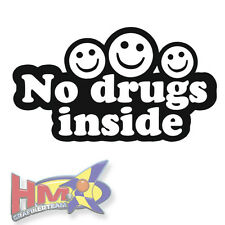 No drugs Inside pegatinas JDM decal sticker Shocker Tuning-ag-0046
