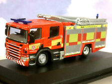 OXFORD 1/76 SCANIA CP28 PUMP LADDER ENGINE KENT FIRE & RESCUE SERVICE 76SFE009