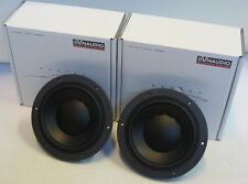 """DYNAUDIO ESOTEC MW 162 WOOFERS PAIR 6,5"""" 165mm UNIQUE QUALITY DRIVERS, BRAND NEW"""