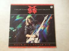 33 TOURS / LP--THE MICHAEL SCHENKER GROUP--LIVE LIVE LIVE ROCK WILL NEVER DIE