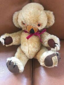 "Superb Vintage 10"" Miniature 1960s Merrythought Cheeky Teddy Bear"