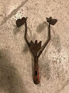 Wolf Tools Vintage 3 Tines Garden Cultivator Head Farm Tool Old Rake Allotment