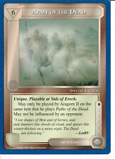MIDDLE EARTH BLUE BORDER PREMIER RARE CARD ARMY OF THE DEAD