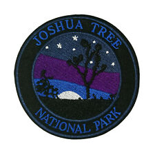 Joshua Tree National Park Embroidered Patch Iron/Sew-On Applique Travel Souvenir