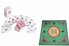 Western Mahjong Table Cover Mah jongg Mahjongg Mat Green /Mah Jong playing cards