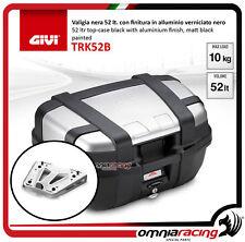 Givi Top Case suitcase TRK52N TREKKER + plate HONDA CRF1000L AFRICA TWIN 16>17
