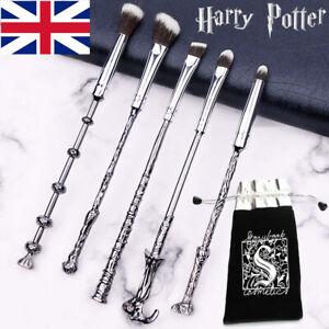 5pcs Harry Potter Makeup Brushes Eyeshadow Eyeliner Eyebrow Make Up  Xmas Gifts