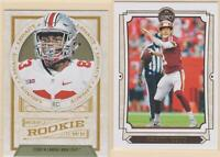 2019 PANINI LEGACY Alex Smith Terry McLaurin Washington Redskins 2 CARD LOT