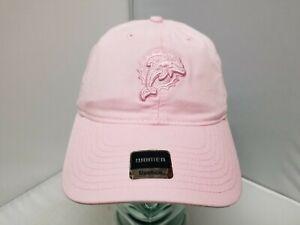 Miami Dolphins NFL Reebok Adult Women's Pink Curved Brim Cap/Hat OSFM