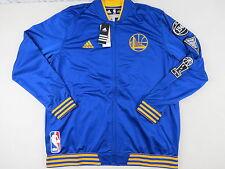 New Adidas Team Issued Golden State Warriors NBA Basketball Player Jacket XXL 2X