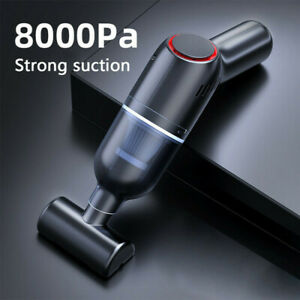 Powerful Car Vacuum Cleaner Wet/Dry Cordless Strong Suction Handheld Cleaning UK