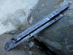 ARCHITECTURAL VINTAGE IN IRON RUSTIC DOOR LATCH SLIDE BOLT LOCK SHUTTER