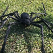 5ft Hairy Giant spider decoration Halloween prop huanted house decor party