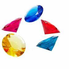 "150 Count Acrylic Gemstone Diamonds Party Décor Kids Motivation 0.78x0.43"""
