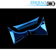 Blue Stainless Inner Dashboard Meter decor Cover Trim Fit Toyota Camry 2018-2020