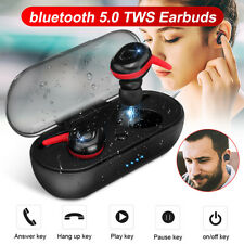 600Mah TWS Stereo Headphone bluetooth 5.0 Headset Earbuds Sport Dual Earphones