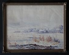 ROBERT FREYSZ (1892/1967)  -  SECHAULT 1917   - Signé