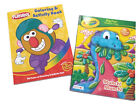Set of 2 Mr. Potato Head  Crayola Preschool Kids Coloring Activity Book Set