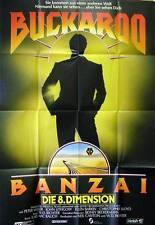 Peter Weller BUCKAROO BANZAI - DIE 8. DIMENSION original Kino Plakat A0