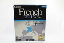 Topics Instant Immersion FRENCH DELUXE v 2.0 9 CD Windows Language Software New